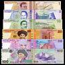Set of 6Pcs Kyrgyzstan 1+5+10+20+50+100 Som Sum Money,P-13,14,15,19,20,21,UNC