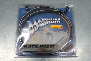 "Harley Davidson MAGNUM Black Pearl Brake Line 52""0 7/16"""