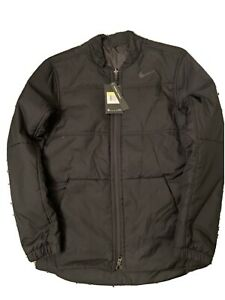 Nike Golf Reversible Water Repellent Black Jacket 932309-010 Mens Size Small S