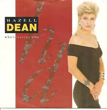 "HAZELL  DEAN - Who's Leaving Who (ps) 7""  45"
