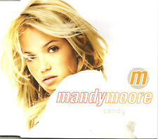 MANDY MOORE Candy w/ MIX & UNRELEASED & VIDEO Europe CD single SEALED USA seller
