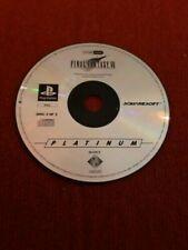 Jeux vidéo pour Sony PlayStation 1 Final Fantasy VII