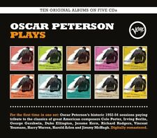OSCAR PETERSON Oscar Peterson Plays 5CD Set NEW 2017