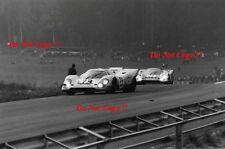 Jo Siffert & Brian Redman Gulf Porsche 917 K Zeltweg 1000 Km's 1970 Photograph