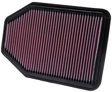 K&N haut débit filtre à air pour JEEP WRANGLER 3.8 V6 2007-2012 33-2364