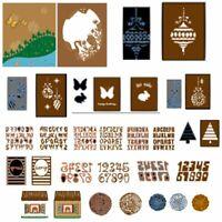 - metall fotoalbum dekor stanzformen scrapbooking in einer schablone karten zu