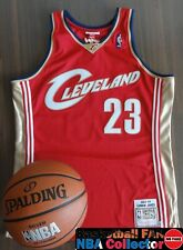 NBA Mitchell & Ness Cleveland Cavaliers Lebron James Authentic jersey Size L