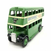 DINKY TOYS 29C Green Double Decker Model Bus In Eastern National Livery. Harwich