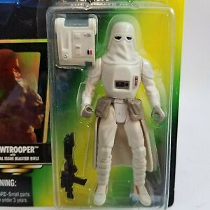 Star Wars POTF Power Of The Force Snowtrooper 1997 Kenner New