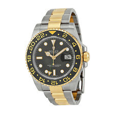 Rolex GMT-Master II Black Automatic stainless steel and 18kt yellow gold  Mens