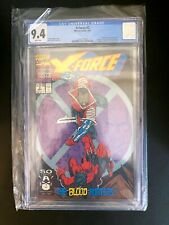 X-Force 2 CGC 9.4 Second DEADPOOL appearance First Weapon X app 1991 Marvel