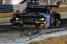 Andy Priaulx SIGNED Team RLL BMW Z4 GTLM , Sebring 12hrs 2014