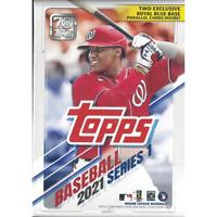 2021 Topps Baseball Series 1 Cards BLASTER Box Relic Card | 2 Walmart Parallels
