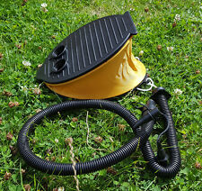 Pump Med Foot Type For Inflatables Swimming Pools and Floats Airbed & Camping UK