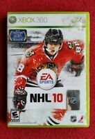 NHL 10 🎮 Xbox 360 video game EA Sports COMPLETE & TESTED [SEE GAMEPLAY PHOTOS]
