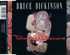 BRUCE DICKINSON  Tattooed Millionaire - 1990 3 Track CD