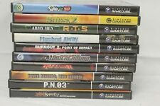 Nintendo Game Cube Video Game Lot of 10. Shrek 2, Sims 2, Defender, Sold As Is.