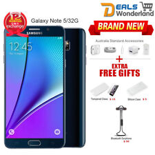 Samsung Galaxy Note 5 N920C LTE 4G Mobile 32GB Black 1Yr Wty in Sealed Box
