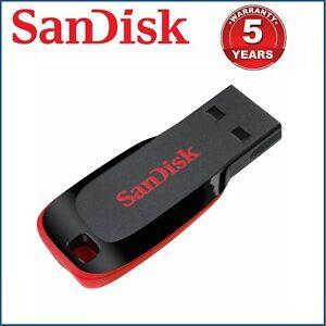 USB Flash Drive SanDisk 32GB 64GB 128GB 16GB Memory Stick Pen USB Cruzer CZ50