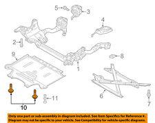 AUDI OEM 07-15 Q7 Quarter Panel-Wheelhouse Liner Screw N90775001