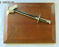 Military Presentation Award Display Plaque Bayonet N E W Free Shipping Dr Shd
