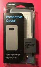 OEM SAMSUNG Ultra-Slim Protective Cover For Samsung Galaxy S8+ ( Silve