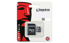 Kingston 64GB MicroSD Class 10 UHS-I SPEICHERKARTE + Kartenleser OVP