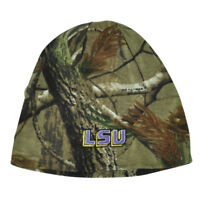 NCAA Louisiana State LSU Tigers Camouflage Camo Real tree Reversible Knit Beanie