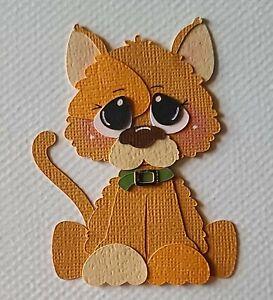 Little Yellow Cat Scrapbook, Card Making Paper Piecing