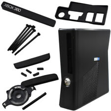 Replacement External Housing Shell Chassis Body Black For Xbox 360 Slim UK