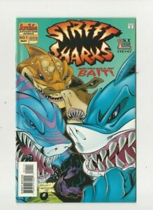 Street Sharks #1 Archie Adventure Series  (May 1996) Direct Edition Comic