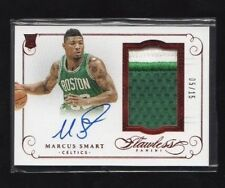 Marcus Smart 2014-15 Flawless Red RPA Patch Autograph Auto RC 5/15 Boston Celtic