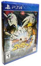 Naruto Shippuden: Ultimate Ninja Storm 4 for Playstation 4 Brand New Sealed