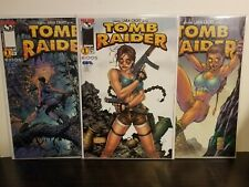 TOMB RAIDER #1 1999 IMAGE TOP COW 3 VARIANT COVERS! TURNER! FINCH! PARK! UNREAD!