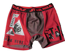 STAR WARS THE POWER OF DARK RED BOXER BRIEFS X-LARGE