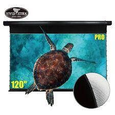 "VIVIDSTORM PRO 120"" Motorized Tension  Drop Down UST ALR projector screen"