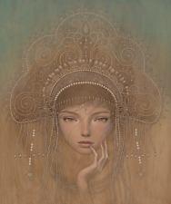 Charlotta Giclee Art Print Audrey Kawasaki Signed & Numbered Ed 200