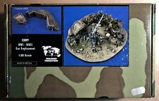 VERLINDEN 1307 - WWI-WWII GUN EMPLACEMENT - 1/35 CERAMIC RESIN KIT