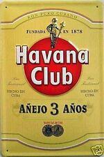 Havana Club Rum en Relief Acier Signe 300mm x 200mm ( hi ) Pas Un Bouteille De