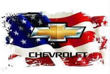 Chevrolet car flag, racing cycle flag, 90x150 cm
