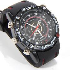 Spy Video Camera Watch Tiny Small Pinhole DVR Hidden Secret Wireless Wristwatch