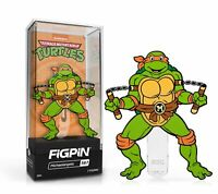 In Stock: FiGPiN Classic: TEENAGE MUTANT NINJA TURTLES TMNT - Michaelangelo(#567