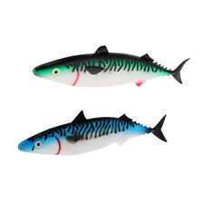 2pcs Soft Simulate Fish Lure Big Sea Fishing Lure Hollow Fish Belly for DIY
