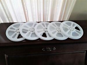 5  *NEW*  8mm REGULAR 8 400' EMPTY PLASTIC REELS (WHITE)