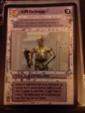 Star Wars CCG Reflections U-3PO FOIL NrMint-MINT SWCCG