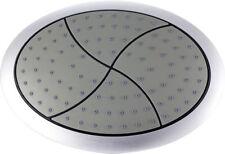 Form rund Brausekopf Duschkopf Kopfbrause Regendusche chrom mit Kugelgelenk