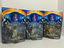 Lost in Space Figures Lot of 3 John Robinson, Don West, Dr. Smith New