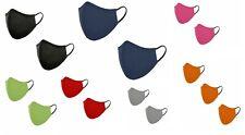 Maske Behelfsmaske Wiederverwendbare Mundschutz Baumwolle 7 Farben NEU 8616-0