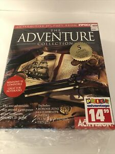 Infocom The Adventure Collection (PC/Mac CD) Open Box GS001 Great Condition