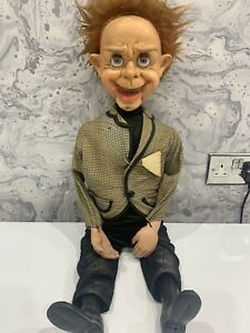 MR PARLANCHIN VENTRILOQUIST DUMMY - Vintage Doll Puppet Scary Horror Kids Toy